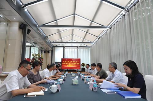 质检总局发展研究中心主任付文飙一行到中国质检出版社...